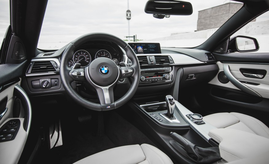 Nội thất xe BMW 420i Gran Coupe new model 02