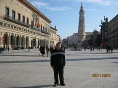 Площадь Plaza del Pilar. Сарагоса