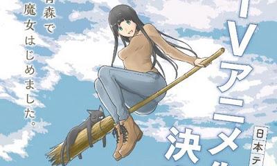 Phù Thuỷ Đáng Yêu  Flying Witch
