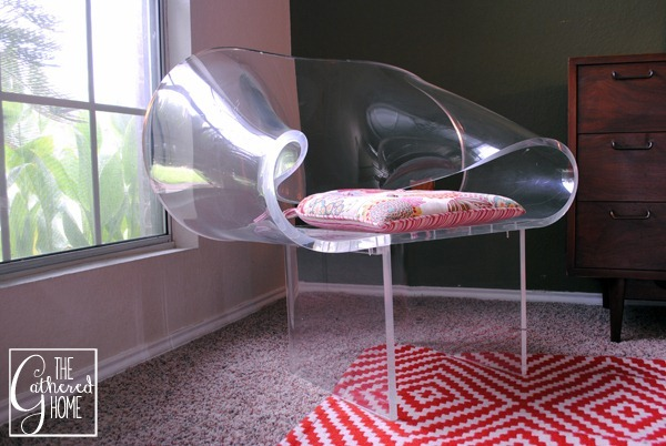 van horn lucite ribbon chair 8