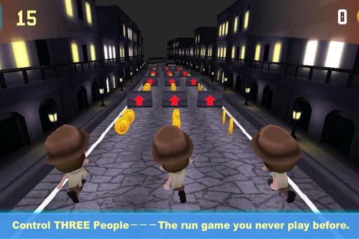 Triple Run Jump Three