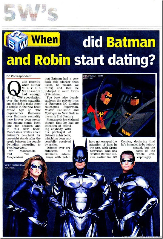 Deccan Chronicle Chennai Chronicle Wednesday 7th Aug 2013  Batman and Robin