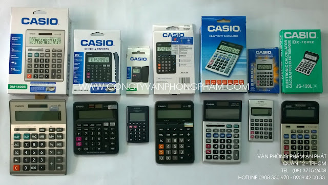 May tinh CASIO