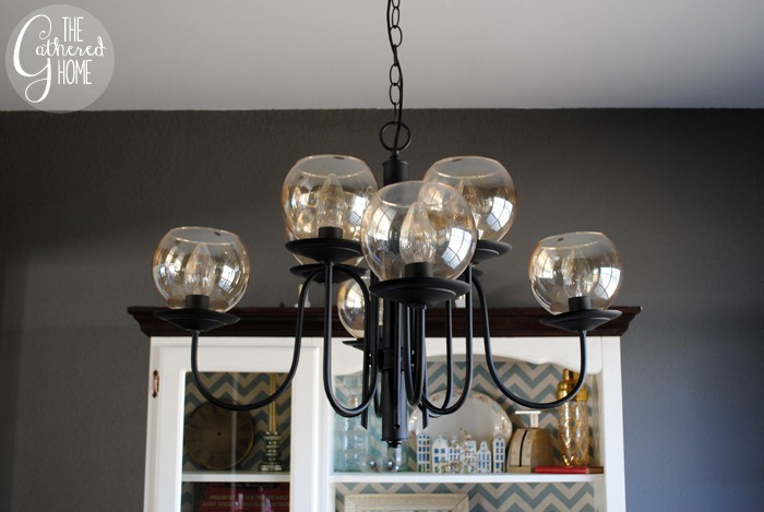 Dining Room Mid Century Chandelier12