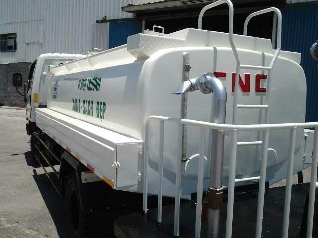 Xe phun nước Hyundai 6,5 tấn