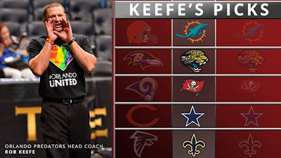 Do your picks match Coachs Who is winning this weekend NFLPicks keefespicks