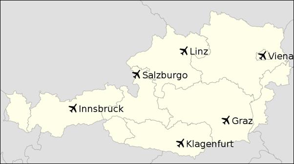 مطارات النمسا مدونة سياحة