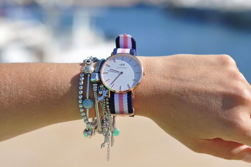 emerald-color-outfit-fashion-blogger-milly-Daniel-Wellington-watch
