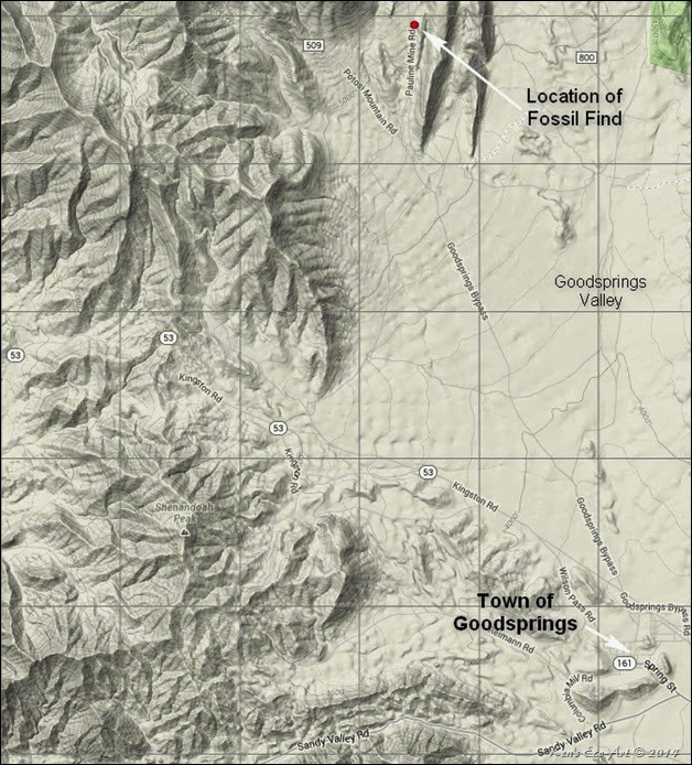 MAP-Goodsprings Valley