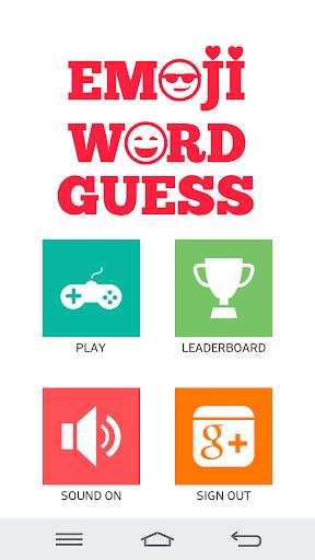 Emoji Word Guess