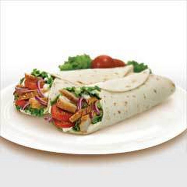 Grilled Chicken Club Wrap Recipe