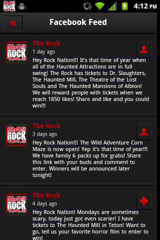 94 NINE The Rock- screenshot