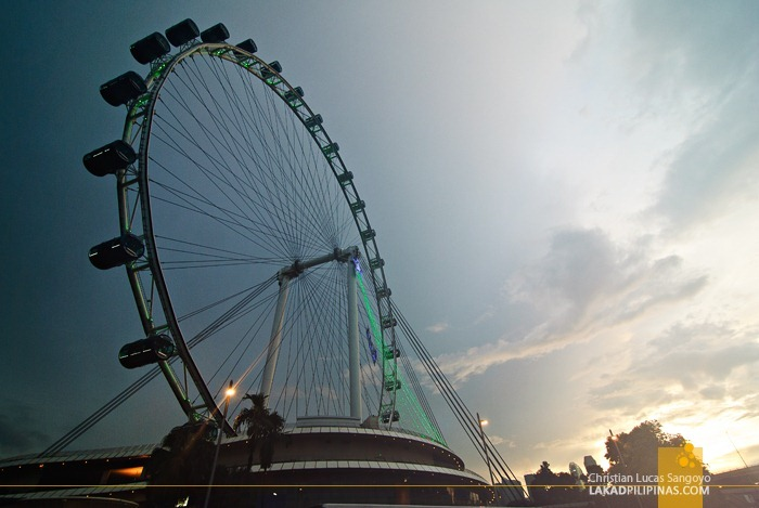 Afternoon at the Singapore Flyer