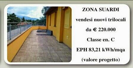 Trilocale Bergamo centro vendita, zona Suardi