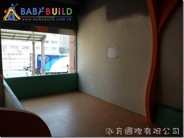 BabyBuild 兒童攀岩遊具施工位置確認