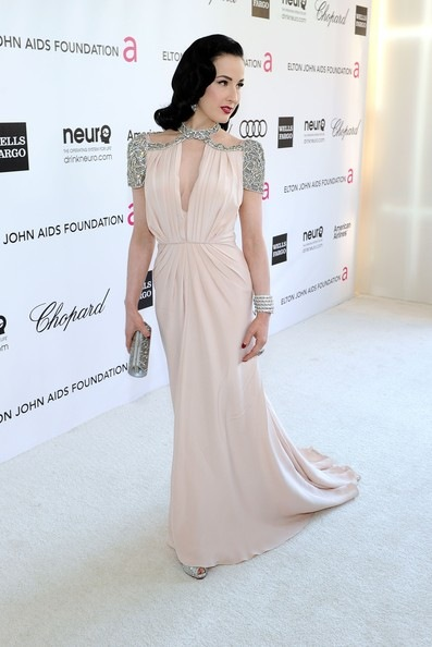 Dita Von Teese 20th Annual Elton John AIDS