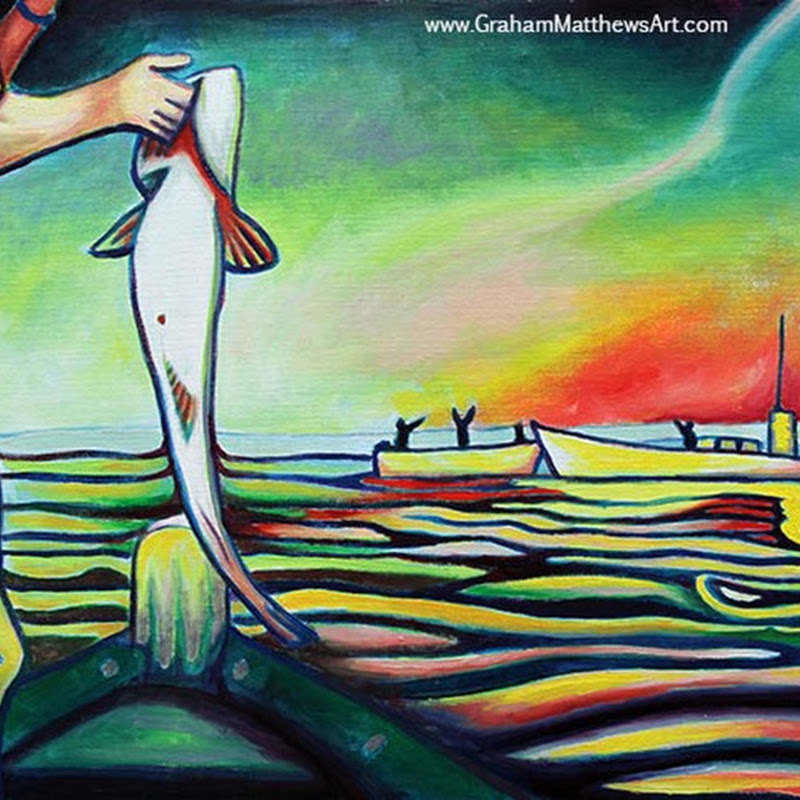 Graham Matthews Art - Paintings from my Fish Series and More