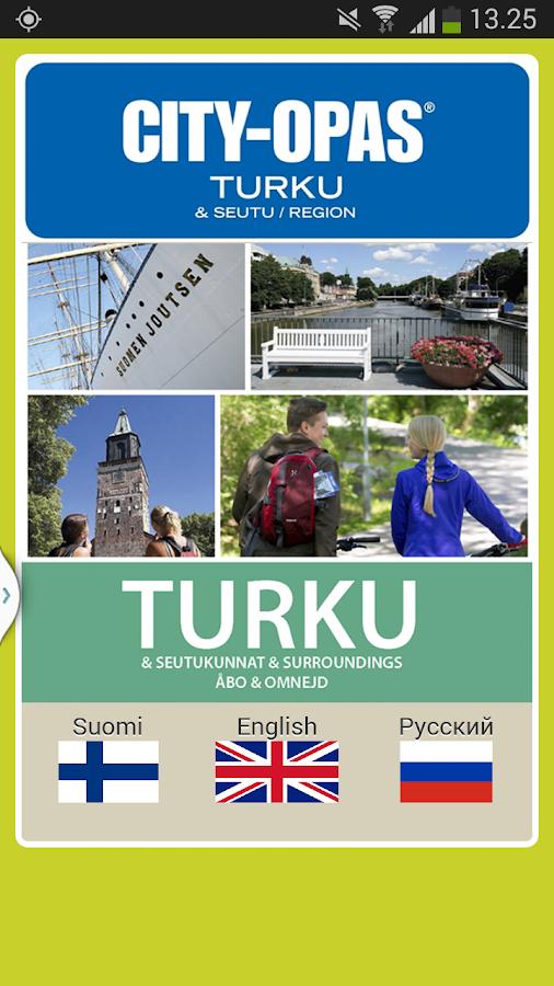 CITY-OPAS Turku & Region - screenshot