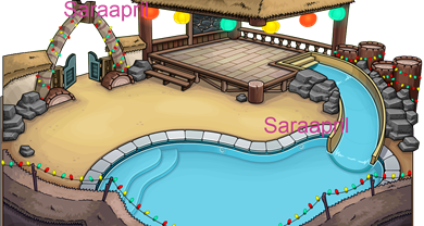 Beach Party Igloo :)