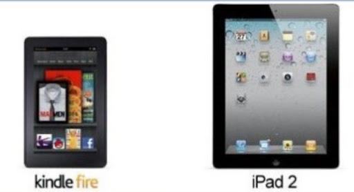 Kindle fire vs Ipad 2