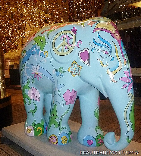 Leona Lewis Singapore Elephant Parade Tangs Orchard