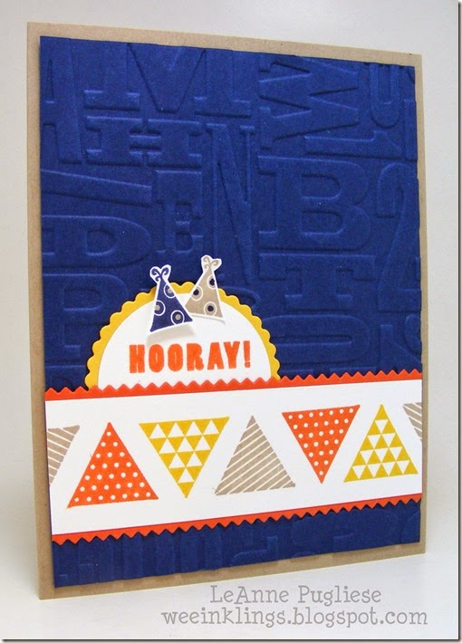 LeAnne Pugliese WeeInklings ColourQ260 Geometrical A Fitting Occasion Stampin Up