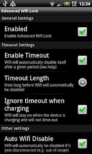 Advanced Wifi Lock - screenshot thumbnail