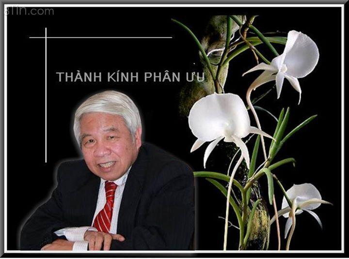 Chúng tôi vừa hay tin Giáo sư Nguyễn Ngọc Bích đã đột