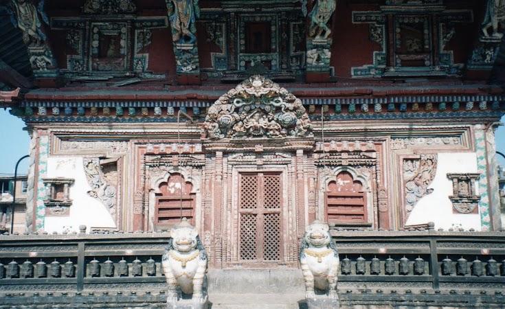 Obiective turistice Nepal: templu Patan.jpg