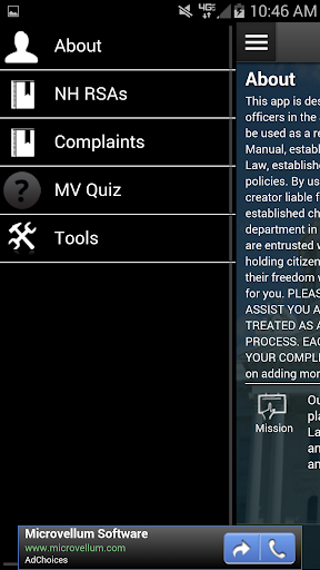 NH Police Guide Criminal Code