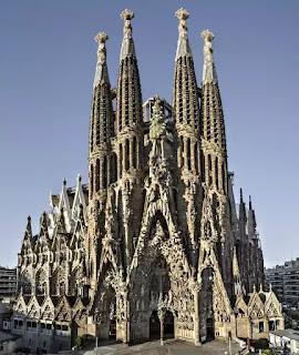 Vương cung thánh đường Thánh Gia / Sagrada Familia Basilica, Barcelona