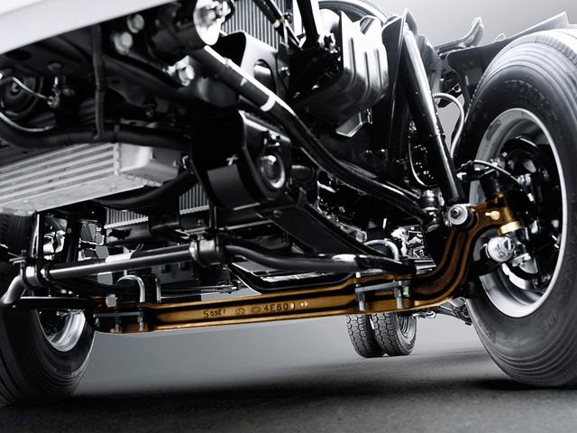 Xe tải Hyundai N250 trang bị hệ thống van điều hòa lực phanh theo tải trọng (LSPV), giúp điều chỉnh lực phanh phù hợp với từng mức tải trọng khi vận hành, mang lại sự an toàn tối ưu