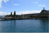 Seebrücke, KKL, altes Bahnhofstor, Bahnhof Luzern