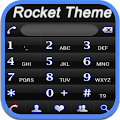App RocketDial Neon Black Theme APK for Kindle