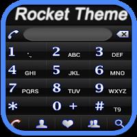 RocketDial Neon Black Theme 2.0