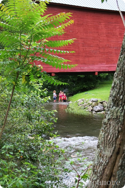 creek red bridge Virginia