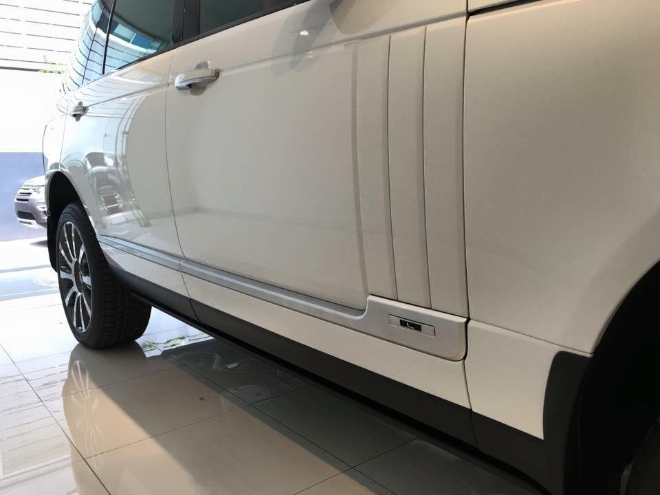 Xe Land Rover Range Rover Autobiography LWB Full Oftion màu trắng 04