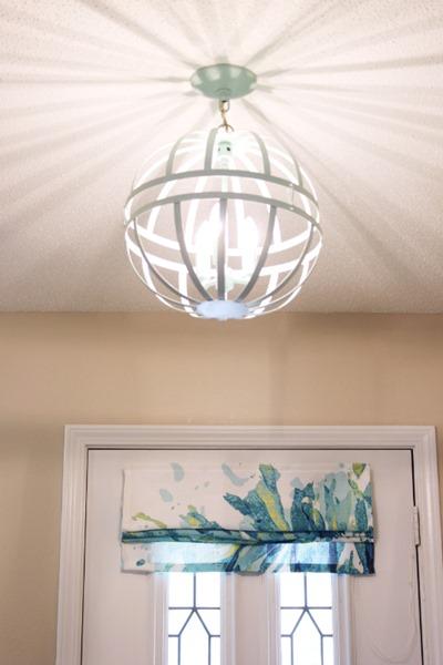 Diy globe chandelier bean in love img4444 aloadofball Images