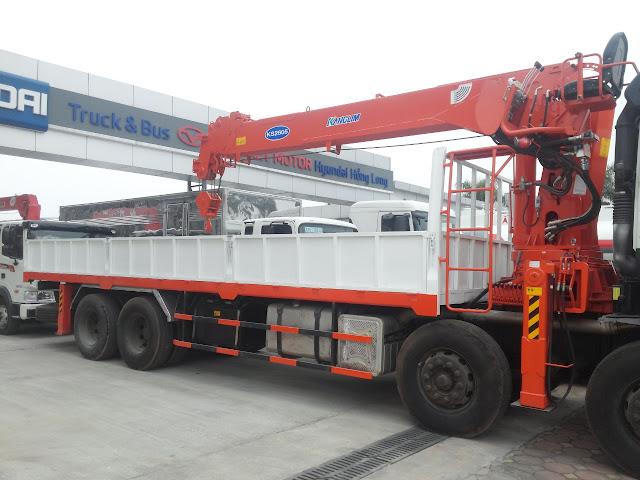 Xe gắn cẩu 10 tấn Kanglim