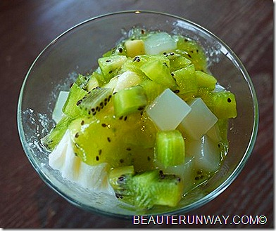 JPOT Ice cream with kiwi