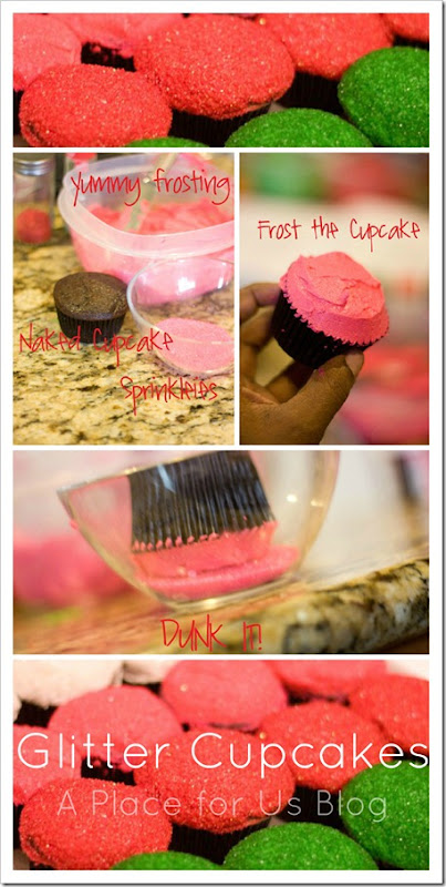 Glitter Cupcakes recipe!! Such fun and cute cupcakes!! Everyone will love these!!