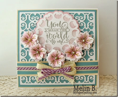 you mean world to me card-490