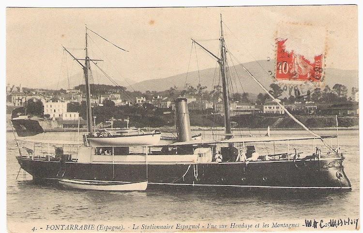 Postal del MAC-MAHON en Hendaya. Colección Jaume Cifre Sanchez.jpg