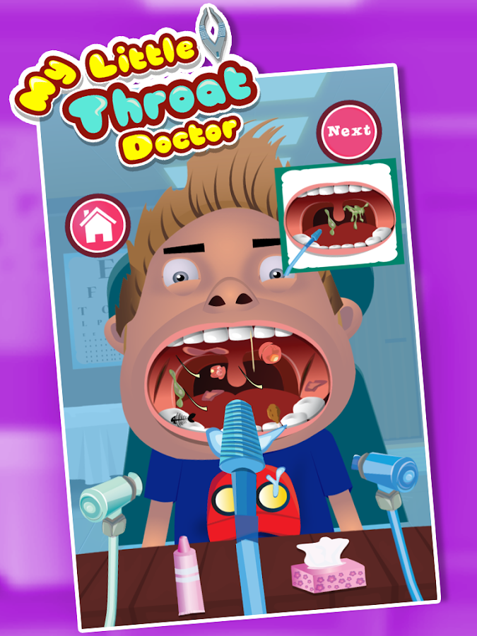 Kids Throat Doctor - screenshot
