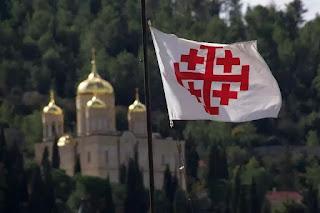 Sao nhiều quốc kỳ có hình thánh giá vậy?