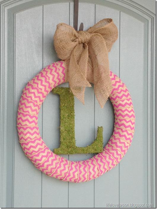 chevron wreath 2
