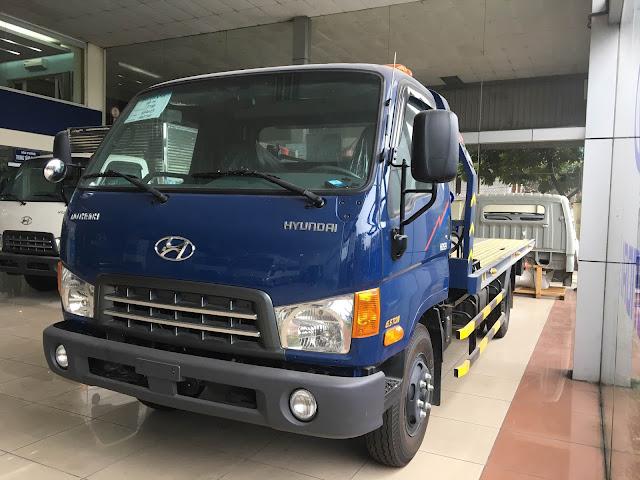 Xe cứu hộ Hyundai HD120sl sàn trượt