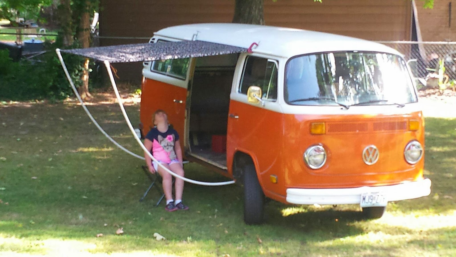 My VW Bus: Easy vw awning