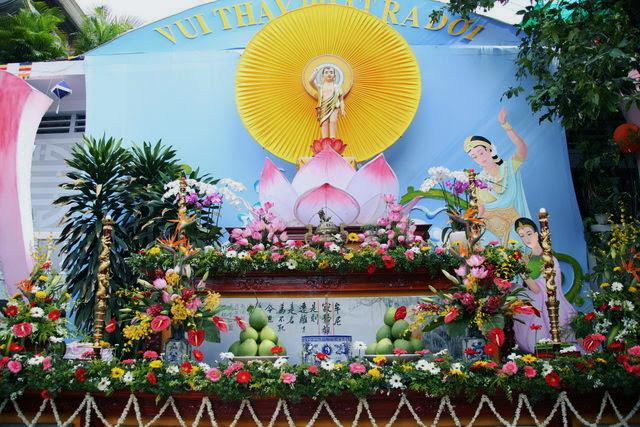 IMG 1961 Đại lễ Phật đản PL 2557 tại Tu viện Quảng Hương Già Lam