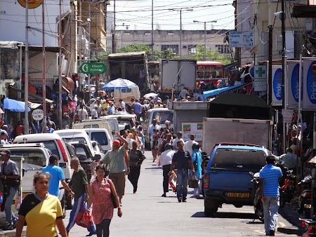 Zona comerciala din Port Louis